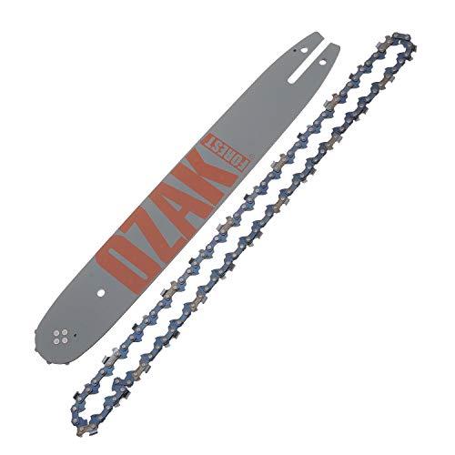 Jardiaffaires Guide chaîne Pro tronçonneuse 35cm 3/8 1,3mm 50E = Oregon 140SDEA318