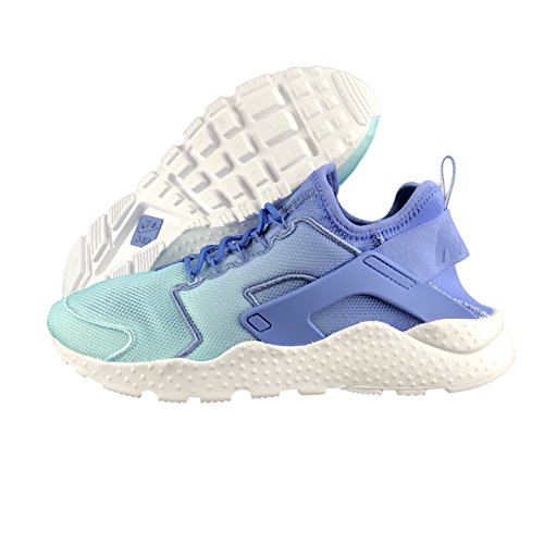 NIKE Damen WMNS Air Huarache Run Ultra Br Gymnastikschuhe, Blau - Polar Still Blue White 401 - Größe: 36 EU
