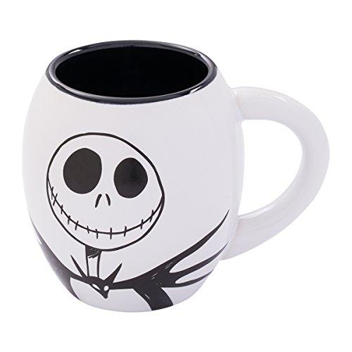 Vandor The Nightmare Before Christmas Jack 18-Ounce Oval Ceramic Mug