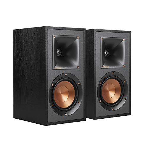 Klipsch R-41M Powerful Detailed Bookshelf Home Speakers