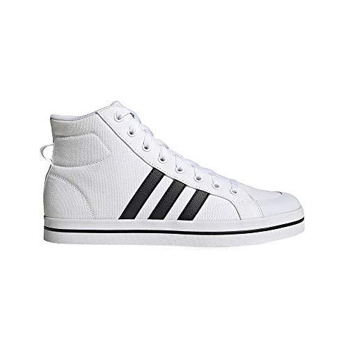 adidas Bravada Mid, Zapatillas de Deporte Hombre, FTWBLA/NEGBÁS/NEGBÁS, 43 1/3 EU