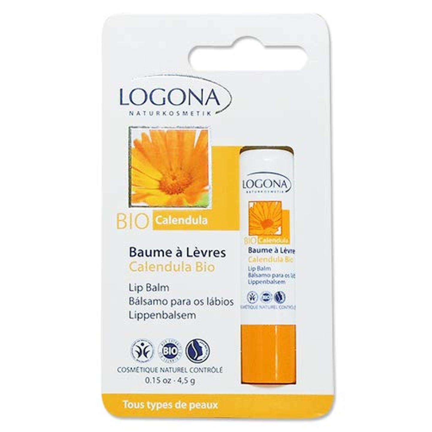 崇拝しますささやき投資2個セット ロゴナ(LOGONA) キャレンデュラ リップクリーム 4.5g[海外直送品]