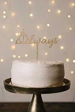 Always Harry Potter Wedding Cake Topper
