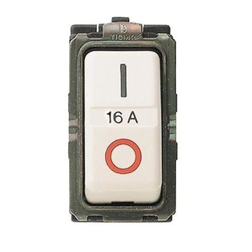 BTicino 5236S Serie Magic Interruttore Magnetotermico, 1P+N, 1, 6A 3Ka, 3500 W, 220 V, Avorio