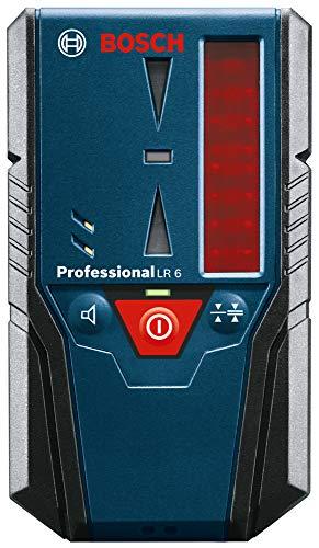 Bosch Professional Ricevitore Bosch LR 7 (raggio rosso e verde, 2 batterie da 1,5 V AAA, portata: 5-50 m, sacchetto di protezione)