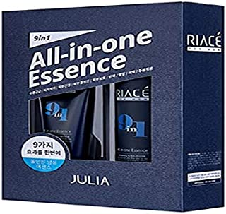 Korean Cosmetics Julia RIACE For Men All-in-one Essence Perfection (Toner + Emulsion + Essence) Whitening & Anti-Wrinkle
