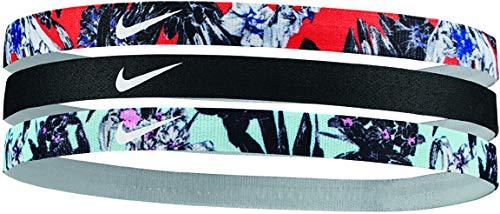 Faixa de Cabelo Printed Headbands Assorted 3Unid, Branco/Preto/Azul