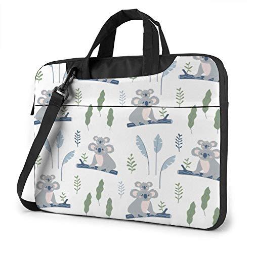 Laptop Messenger Laptop Bag Australian Funny Koala Bear Shoulder Bag Briefcase Office Laptop Sleeve Case Satchel Tablet for Men Women
