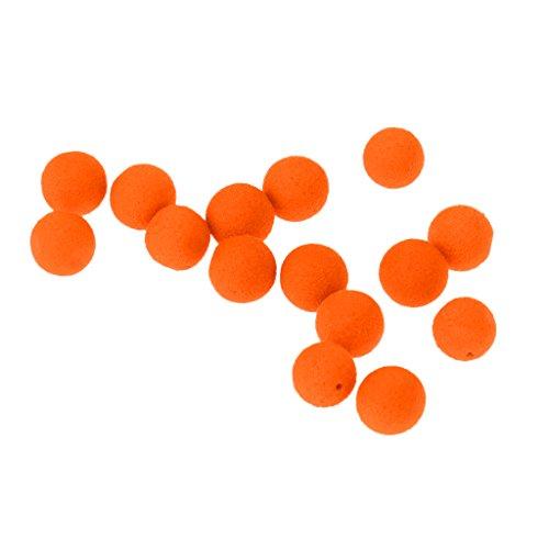 MagiDeal Boilie Box Karpfen Boilie Pop Up 8-14mm Angeln Köder Pellet Mini Mit Geschmack - Orangen-Süßkartoffel, 8mm