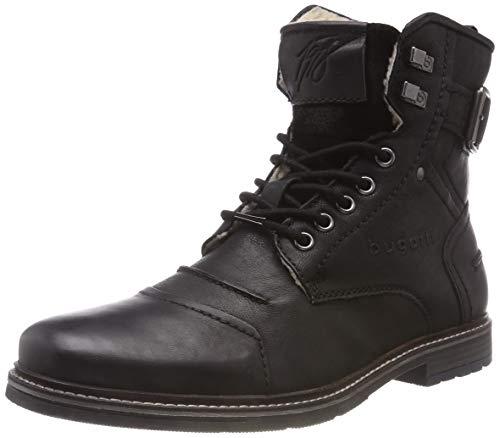 bugatti Herren 321622513200 Klassische Stiefel, Schwarz, 42 EU