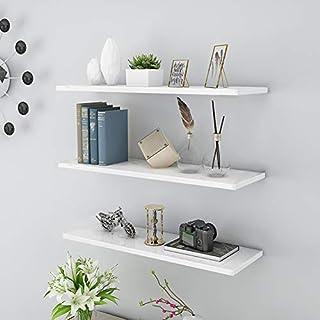 Estantes flotantes para paredes decoración del hogar estantes de pared estantes para colgar en la pared 40 cm de ancho...