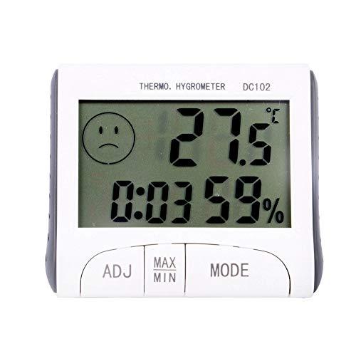 Thermomètre électronique LCD Testeur de température numérique Thermomètre sans fil Hygromètre Humidité