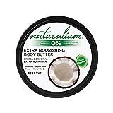 Naturalium Crema Corporal Coco - Crema Hidratante Extra Nutritiva, Sin Parabenos, Sin Colorantes, 200 ml