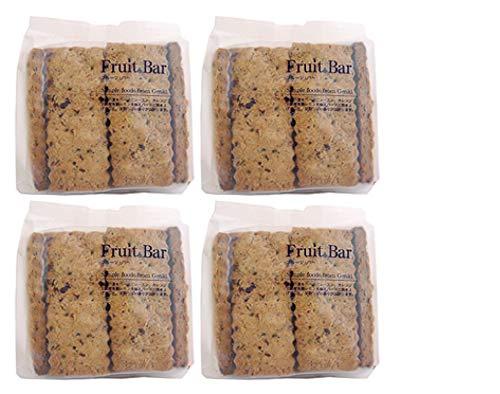 無添加 お菓子 フルーツ・バー(10枚入り)×4個★ コンパクト ★海外のJASドライフルーツをたっぷり使用。 国産有機レモンでアクセントをつけました。トランス脂肪酸不使用の焼き菓子:この「クッキー」は ★中国産原材料不使用★ 食品添加物無添加 ★ トラン