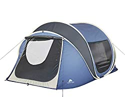 tent with skylight for keeping tent cool
