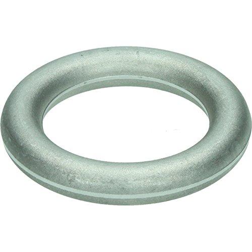 HaWe 140.02 Ring für -Spaltkeil aus Duraluminium, Silber, 3x3x1 cm