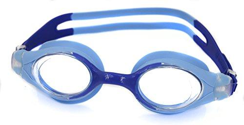 Aqua-Speed Herren Monoblock Schwimmbrille Beta Einheitsgröße Blue/Blue Tinted Lens