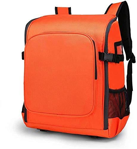 Kit de Primeros Auxilios-Kit de Supervivencia Resistente al Agua y al Fuego,Mochila de Rescate de Emergencia automático,Mochila Ligera para el hogar,Viajes,Deportes al Aire Libre (Orange)