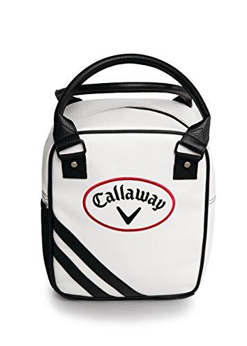 Callaway Golf Practice Caddy Sac Caddie d'entraînement Adulte Unisexe, Blanc Noir, Taille Unique