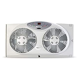 Bionaire Window Fan with Twin 8.5-Inch Reversible Airflow Blades and Remote Control, White (B000065DKJ)   Amazon price tracker / tracking, Amazon price history charts, Amazon price watches, Amazon price drop alerts
