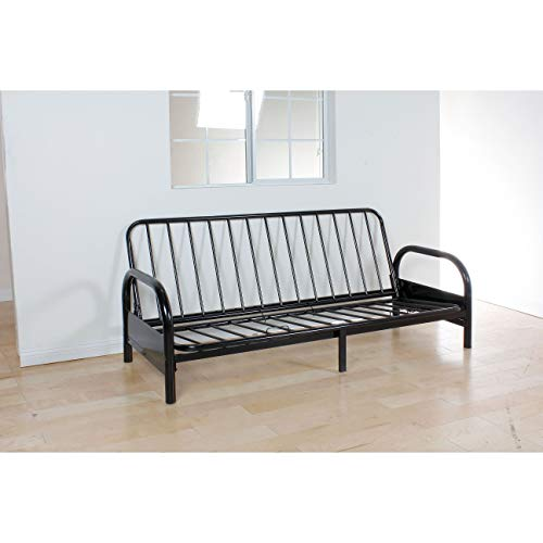 Best Price! Adjustable Frame for Futon Black Metal Modern Contemporary Solid