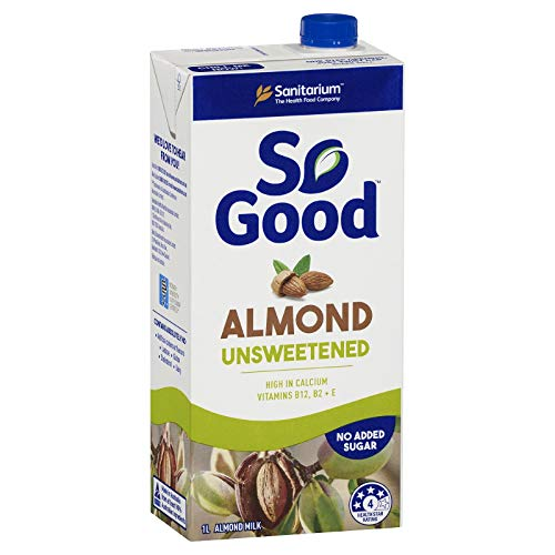 Sanitarium So Good Long Life Unsweetened Almond Milk 1l