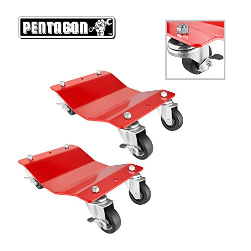 Our #5 Pick is the Pentagon Tool Commercial Grade 2-Pack Tire Dolly