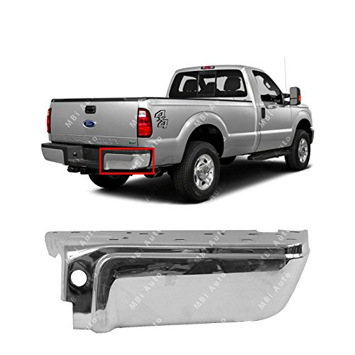 BUMPERS THAT DELIVER - Chrome, Steel Rear Right RH Bumper End for 2008-2016 Ford...