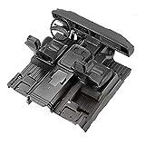 ecarke grc 1/10 scale ford 1979 bronco interior simulation center control kit di riparazione sedile interno per trx-4 ford bronco models # g161rr g161rw g161rb nero