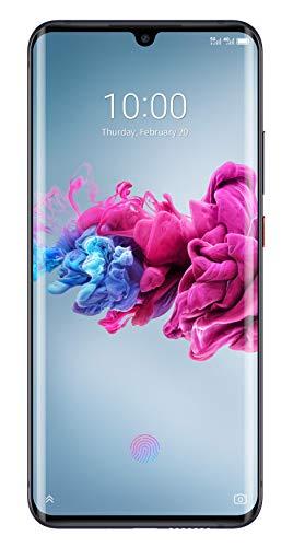 ZTE Smartphone AXON 11 5G (16.43 cm (6.47 Zoll) AMOLED Waterdrop Bildschirm, 128GB interner Speicher & 6GB RAM, 64MP Hauptkamera, 20MP Frontkamera, NFC, 5G, Android 10) schwarz