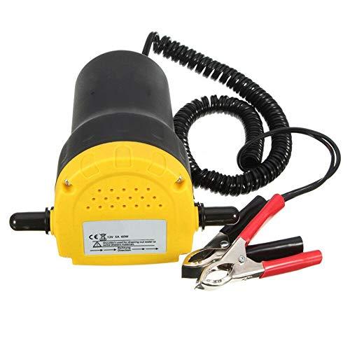 MW Mutiwill Pompe de Vidange électrique, Extraction D'Huile De Fluide Diesel Moteur Voiture 12V 60W Pompe de Transfert de Carburant d'Aspiration d'Huile