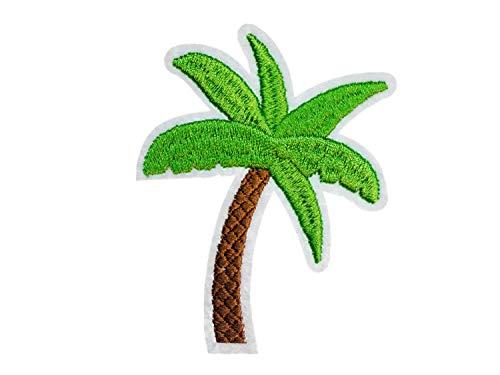 Miniblings Palme Tansfert Tissu Correctifs Palmiers Arbre Fer Tropical Patch Vacances Tropicales I Patches à Repasser Enfants pour Le Repassage