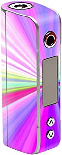MightySkins Skin Compatible with Sigelei Spark 90W TC – Rainbow Zoom | Protective, Durable, and Unique Vinyl Decal wrap Cover | Easy to Apply, Remove, and Change Styles | Made in The USA