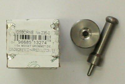 Osborne brand #235-0 Midget size Setter Surprise price Set #0 Die Grommet Columbus Mall