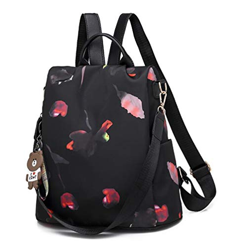 Anti Theft Women Backpack | Waterproof Oxford Ladies Back Pack Rucksack | Lightweight Stylish School Bags for Everyday Use Going Out Traveling Working