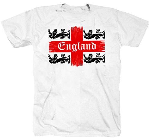 polo uomo west ham Londra Rock Inghilterra Manchester Liverpool Calcio Punk Maglietta T-shirt shirt bianco M