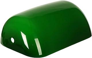Newrays reemplazo de la cubierta de la lámpara de banqueros de vidrio para lámpara de escritorio (Verde)