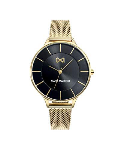 MARK MADDOX - Pack Reloj Acero IP Dorado Brazalete + Pulsera Sra Mm - MM7118-57