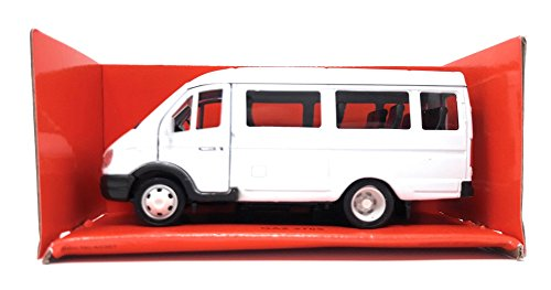 Welly DieCast metall Modellauto 1:36-39 Russischer GAZ 2705 Gazellle weiss neu und box
