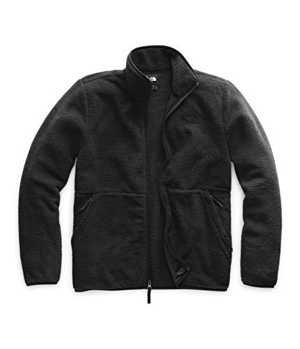 The North Face Men's Dunraven Sherpa Full Zip, TNF Black, Medium