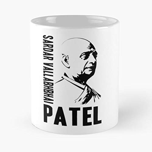 JewlR Vallabhbhai National Republic Politics Patel Indian Leader India Independence of Congress Sardar Barrister Statesman Social Best 11 oz Kaffeebecher - Nespresso Tassen Kaffee Motive