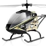 Ruuc ための大型屋外ヘリコプターRCドローン玩具 ヘリコプター 初心者向け 子供用 USB充電 ヘリコプター 男の子 正規品 ギフトティーネージャー用男の子女の子向けギフト グレー
