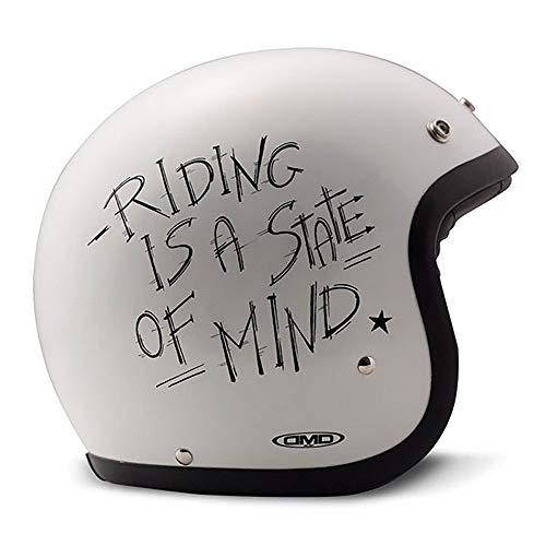 DMD 1JTS30000OL04Motorrad-Helm, Oldie
