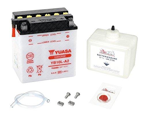 YUASA Batterie für Suzuki GS 500 E, 1979 (GS500E), inkl. Pfand €7,50