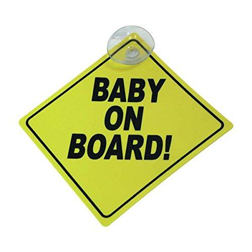 Carpoint 1710579 Schild 'Baby on board!'