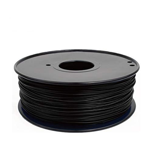 3D Printing Pen Filament,Uayella 100g 3D Printer POM Filament 1.75 MM / 3.0 MM 100g Spool for Makerbot, Reprap, UP, Afinia, Flash Forge and all FDM 3D Printers,Black
