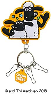 Shaun The Sheep Rubber Clip Key Chain (Sean Timmy)