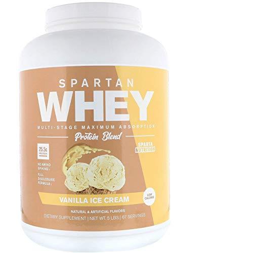 Sparta Nutrition Spartan Whey Ultra Premium Protein Blend, Vanilla Ice Cream | Amazon