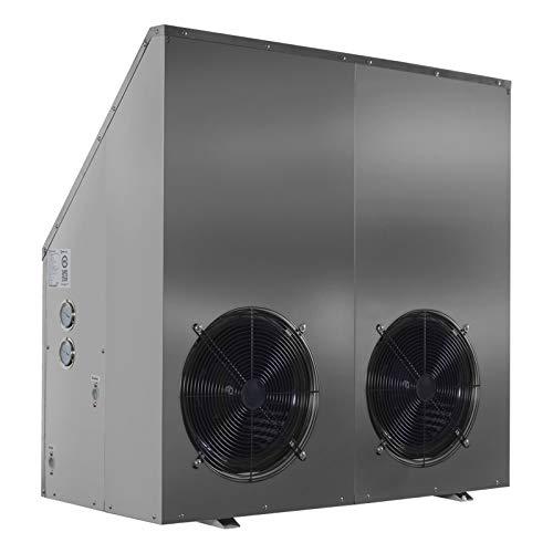 Meeting MDN60D Super Leise Luft Wasser Wärmepumpe 21KW Neu (Edelstahl,Mit Brauchwassermodul (D2))