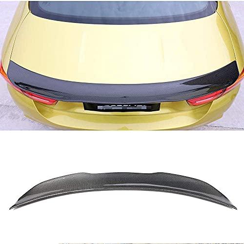 Alerón trasero de fibra de carbono real para automóvil, alerón para puerta trasera, ala trasera del maletero, ala del parabrisas, adecuado para BMW 4Er F32 F82 M4 Coupe 2 puertas 2014-2017, accesori